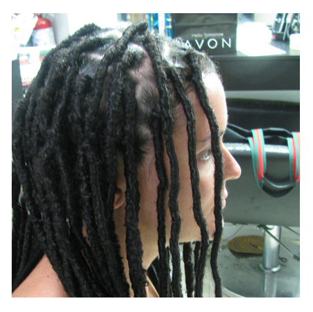 Silky Braids Amazing weaving of the braids in the updo. | Hair ...